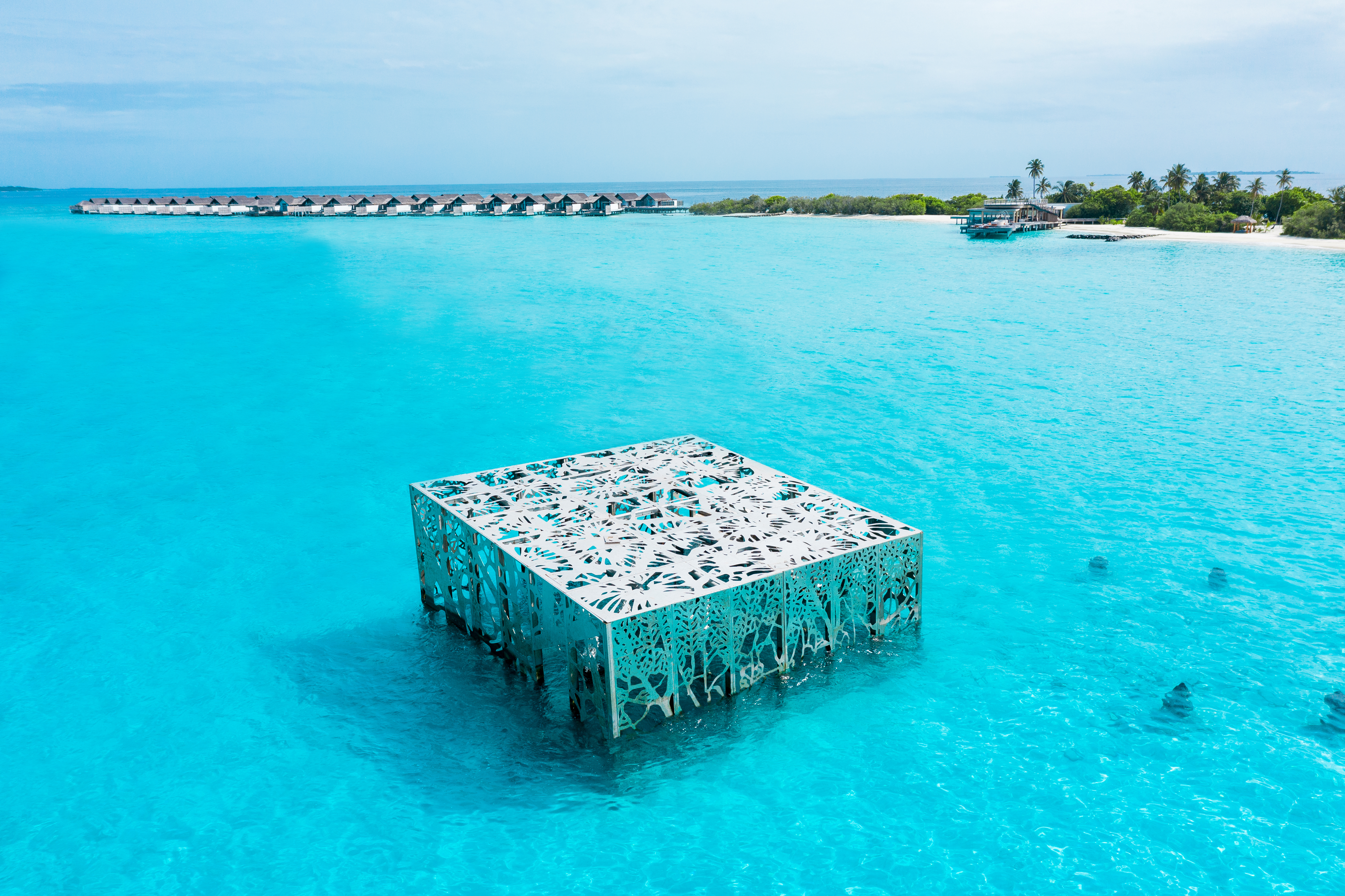 Fairmont Maldives Launches Must See Underwater Eco Art